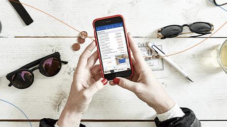 Lernen Sie unsere neuen Apps für mobiles Banking kennen.