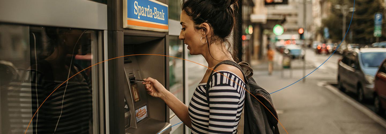 Geldautomat der Sparda-Bank Berlin