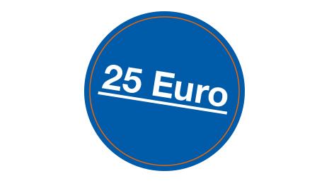 Grafik 25 Euro Prämie der Sparda-Bank Berlin